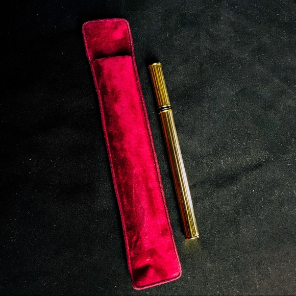 Other - 🌹 Goldtone Perfume Applicator Pen with Case